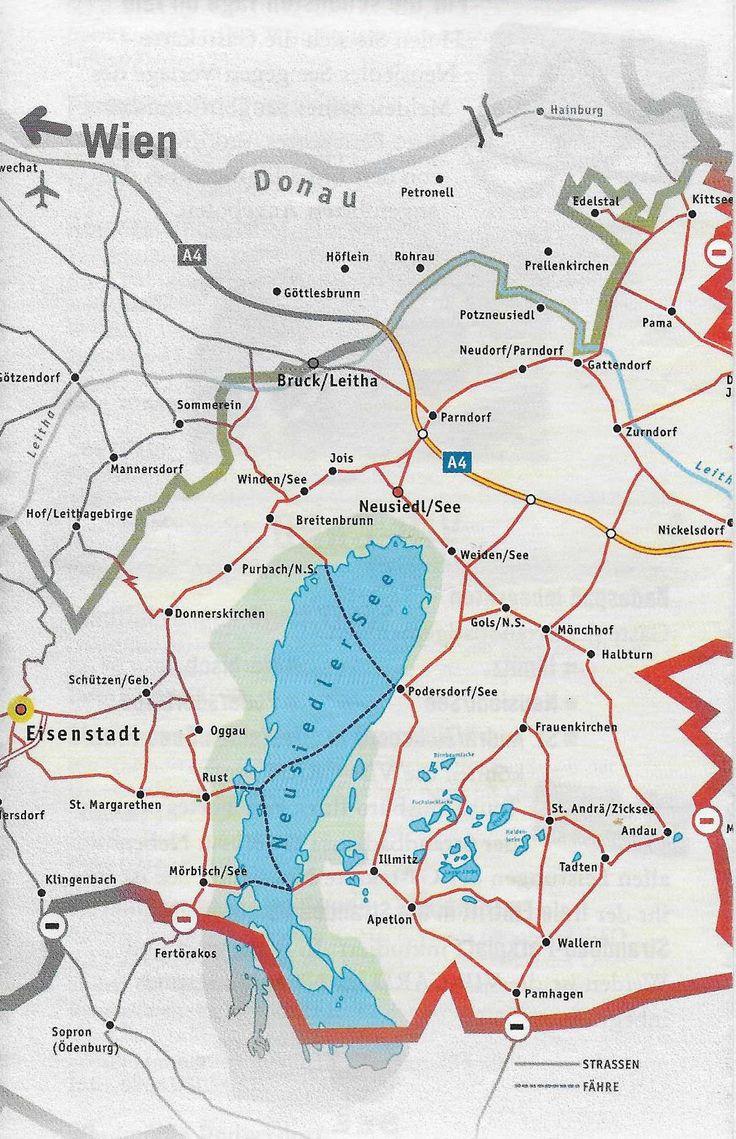 Austria-Il Neusiedlersee si estende da nord a sud per piu' di 30 chilometri ed è largo 5 .