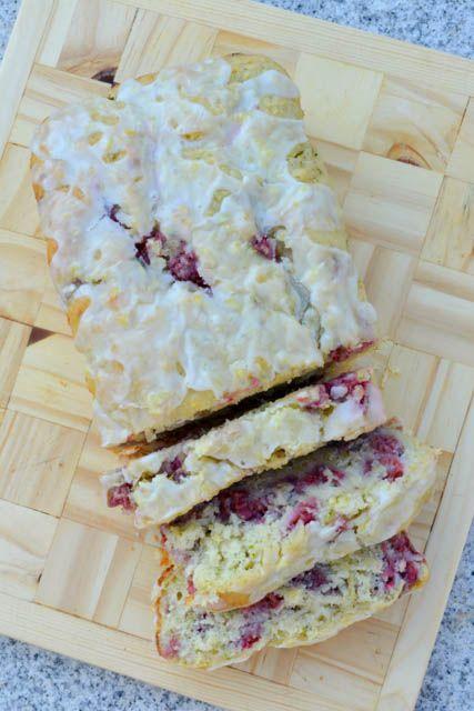 Lemony Raspberry Zucchini Bread-3