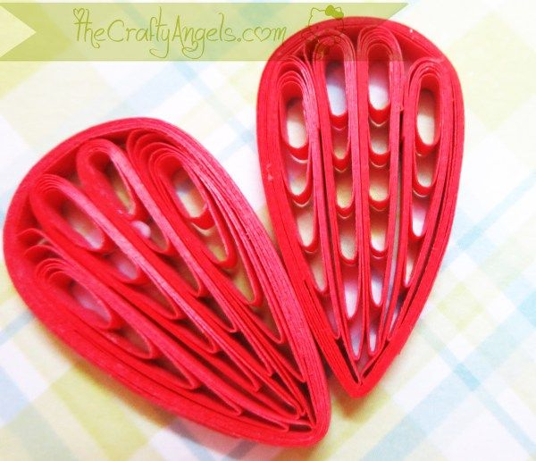 Quilling comb flower tutorial (13)                                                                                                                                                                                 More
