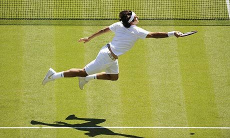 Roger Federer, the greatest tennis player ever.