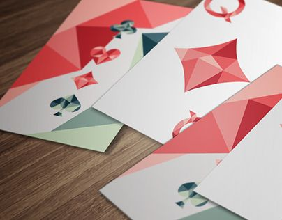"""Consulta este proyecto @Behance: """"Geometric Playing Cards"""" https://www.behance.net/gallery/21093397/Geometric-Playing-Cards"""