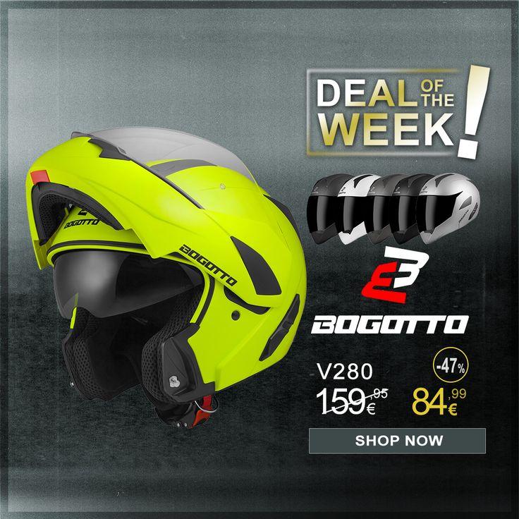 Bogotto V280 Klapphelm Helm Beluftungssystem Beluftung