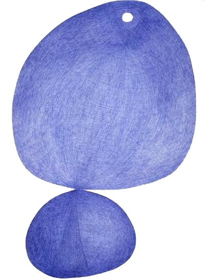 Andra Samelson. From the Bix series,  ballpoint pen on paper. 30X22