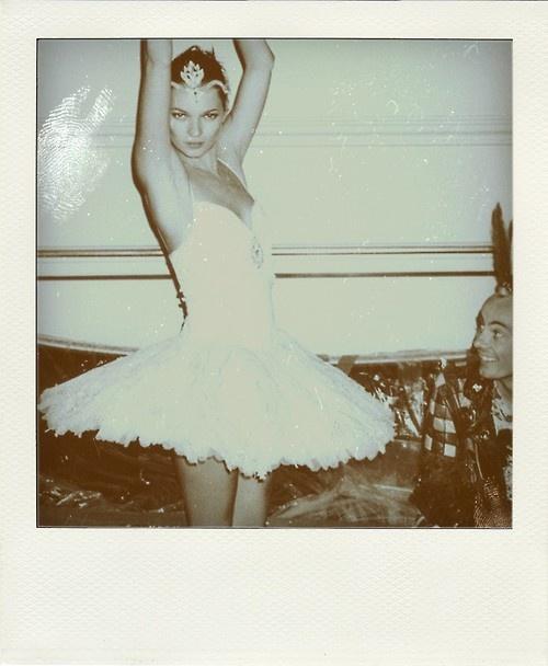Kate Moss polaroid.