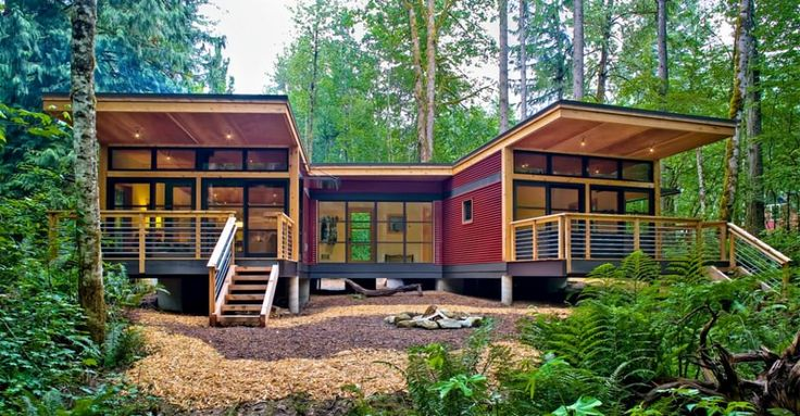 Image of: Green Modern Modular Homes