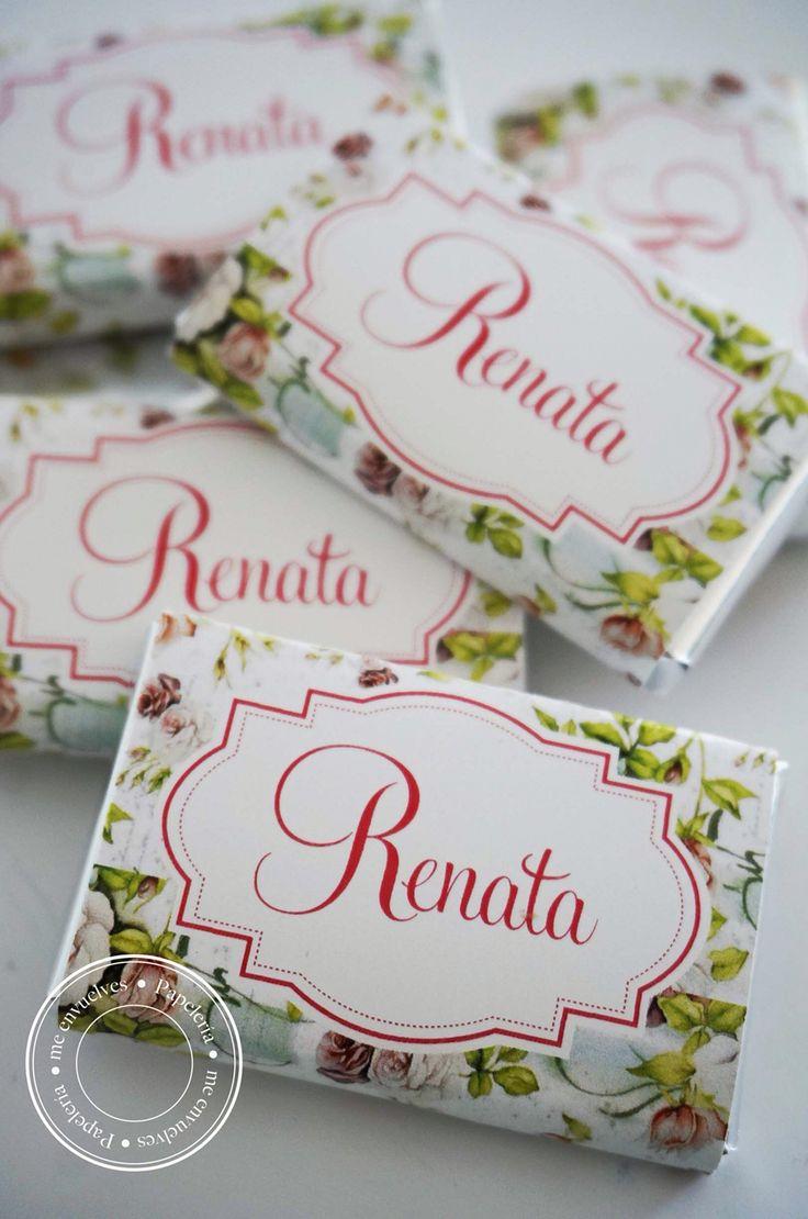 Chocolates personalizados  www.meenvuelves.com.ar