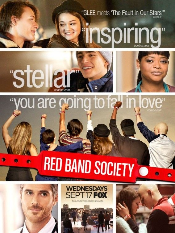 Red Band Society I AM IN LOVE I WANT MERCHANDISE SOON!!!