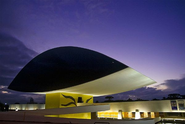Museu Oscar Niemeyer, BrazilBrazil, Architects, Glasses, Art Museums, Oscars Niemeyer, Museu Oscars, Buildings, Oscar Niemeyer, Design