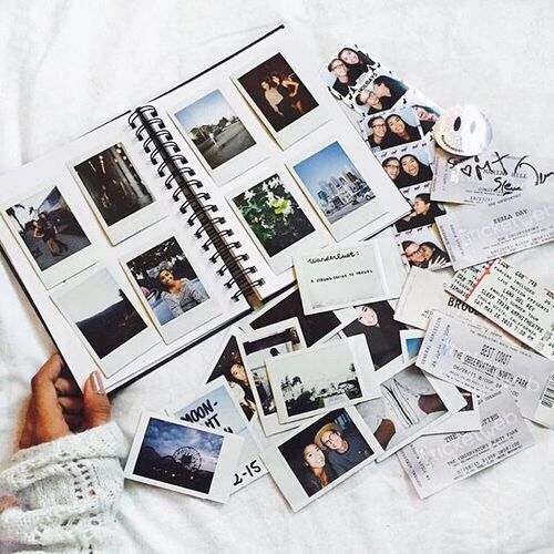 The 25 best polaroid crafts ideas on pinterest polaroid dreams polaroid album from uo negle Image collections