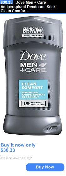 Deodorants and Antiperspirants: Dove Men + Care Antiperspirant Deodorant Stick Clean Comfort 2.70 Oz (Pack Of 6) BUY IT NOW ONLY: $30.33