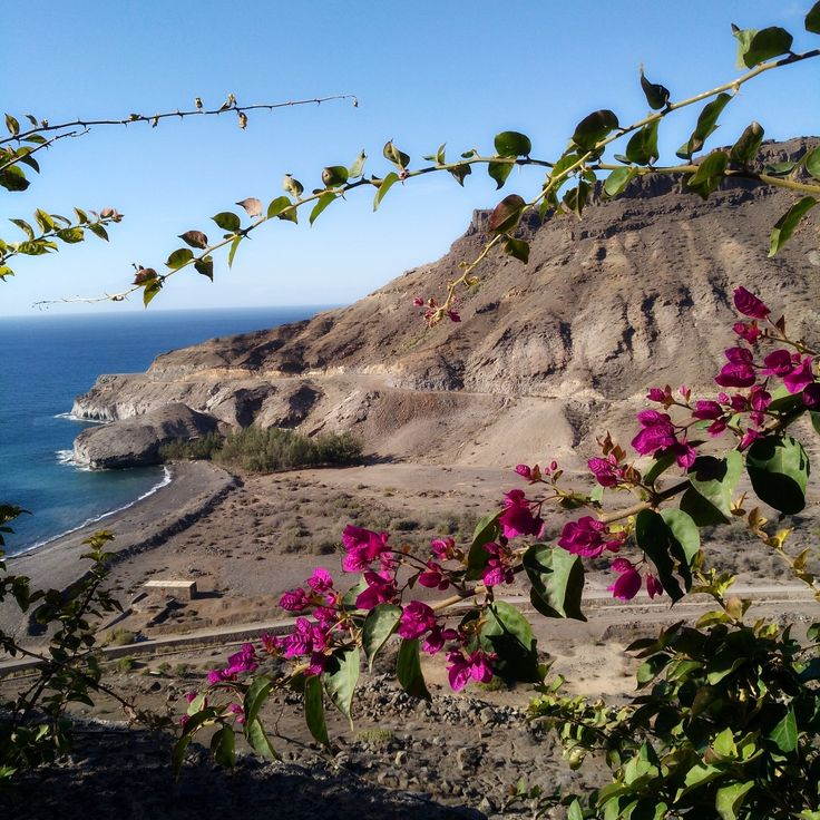 Beach or mountains? I want it all! #beach #mountains #grancanaria #nature #photography