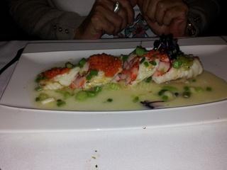 Rape asado. Restaurante Goizeko Kabi, Madrid.  Via www.11870.com/
