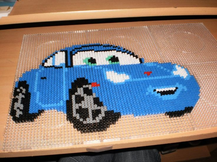 Cars Sally hama perler by creations-differente - skyrock