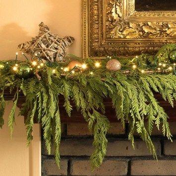Inexpensive Diy Christmas Garland Decorating Ideas 16 ...