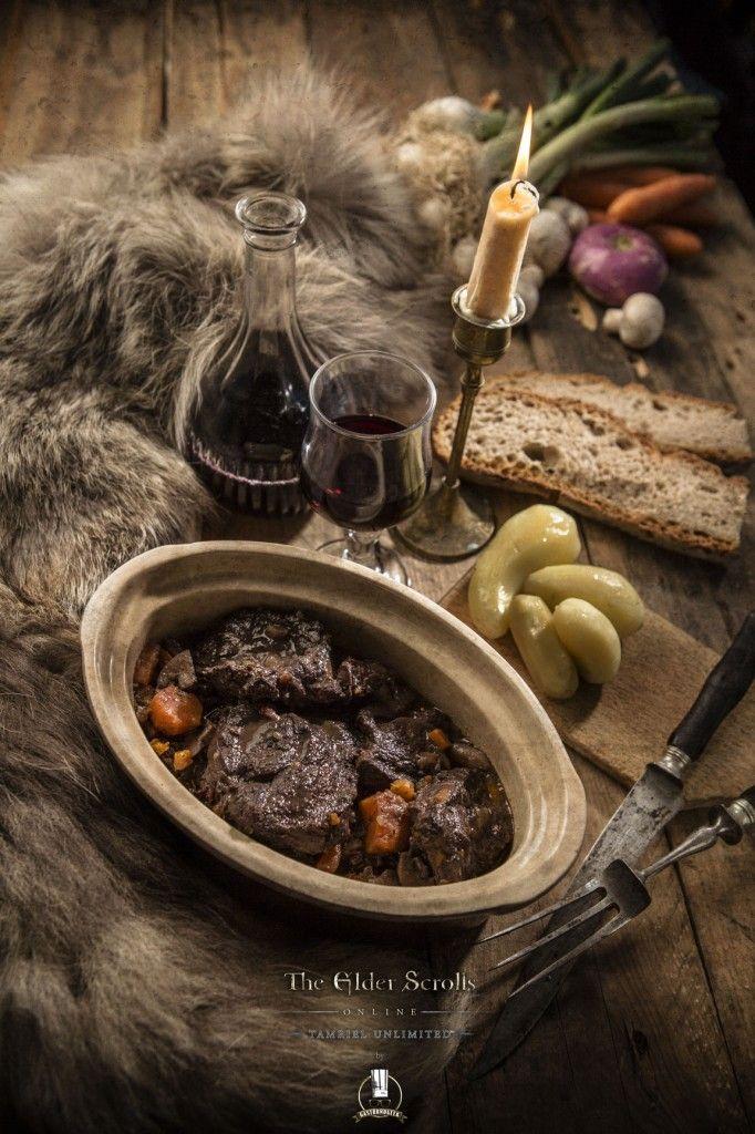 Gastronogeek dans le monde de Elder Scrolls Online