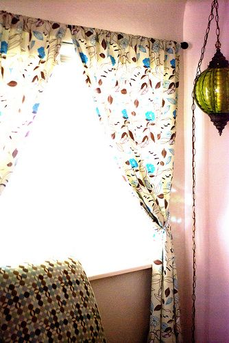 How To Make Lined Curtains - Tutorial