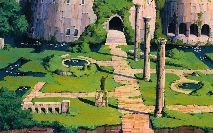 free desktop pictures laputa castle in the sky, 265 kB - Radford Bush