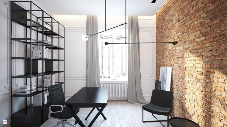 Biuro styl Eklektyczny - zdjęcie od LIVING BOX - Biuro - Styl Eklektyczny - LIVING BOX