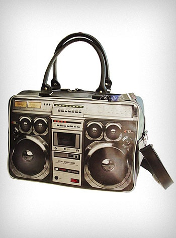 80's Ghetto Blaster Weekend Bag