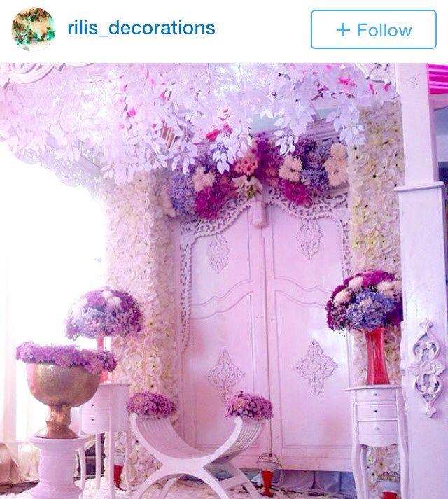 Gebyok putih #siraman #dekorasi