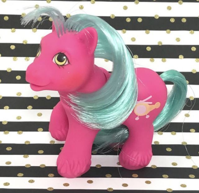 Vintage My Little Pony Baby Boy Brother Whirly Twirl Helicopter Symbol | eBay