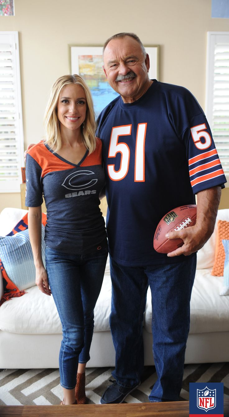 With The Legendary Linebacker Dick Butkus Hes A Lot -3743