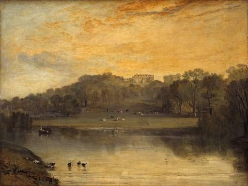 Joseph Mallord William Turner 'Somer-hill, near Tunbridge, the Seat of W.F. Woodgate, Esq.', exhibited 1811 -  Oil paint on canvas -  Dimensions Support: 915 x 1223 mm -  © The National Gallery of Scotland