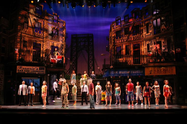 """""""In the Heights"""" Set Shot"""