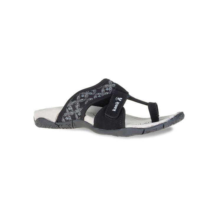 Kamik Mustique Women's Sport Sandals, Size: 10, Black