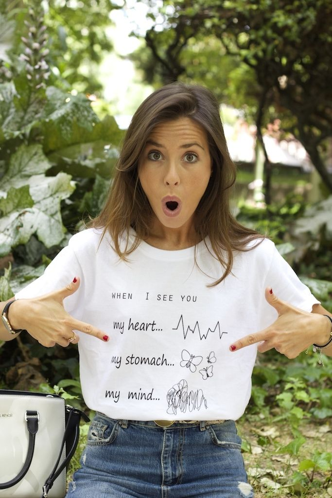 When I See You t-shirt. Marta Carriedo (It Girl)