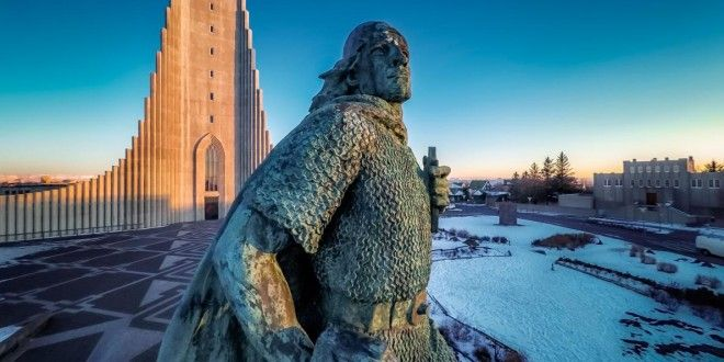 Some consider Erikson to be the first European to reach America—and over a century ago, there was a push to recognize him over Columbus. What's Spongebob Square