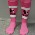 $12 - McGrath Foundation Pink Football Socks (Youth - size 2-7) - With rugby league heroes embracing their pink side during the 2012 Harvey Norman Women In League Round in June, grassroots footy clubs also have the chance to add a splash of pink with the McGrath Foundation's NEW and exclusive McGrath Foundation Pink Footy Socks!    Every pair sold will help make a difference to Australian families experiencing breast cancer.