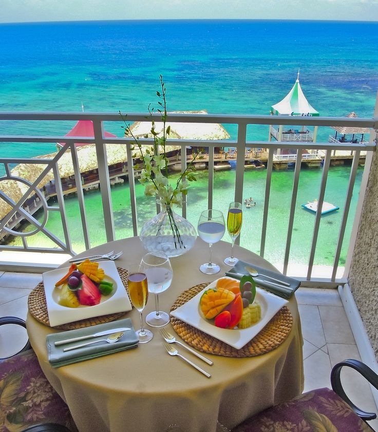 Breakfast, lunch or dinner on your balcony at Sandals Ochi | Sandals Resorts | Jamaica