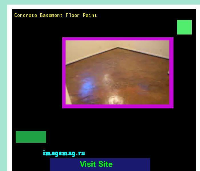 Concrete Basement Floor Paint 090436 - The Best Image Search