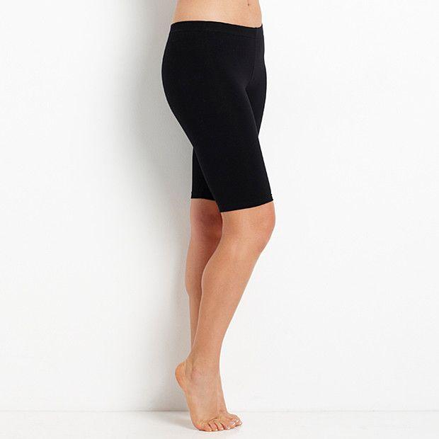 Health Goth // Target / T30 Mid-Length Bike Shorts - Black