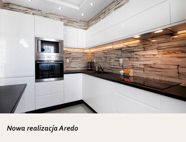 Modna Biala Kuchnia Na Wymiar Aredo Gdansk Kitchen Design House Kitchen