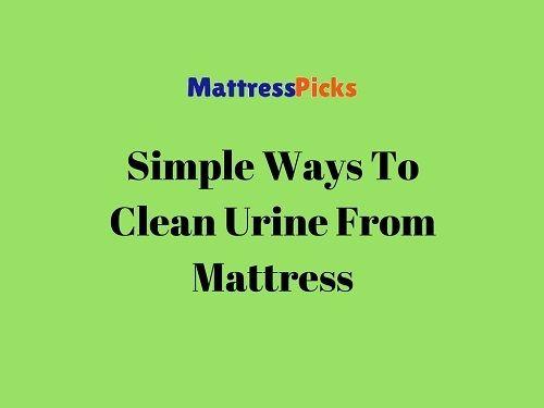 #Ways To #CleanUrine From #Mattress!! #Urine #CleaningTips