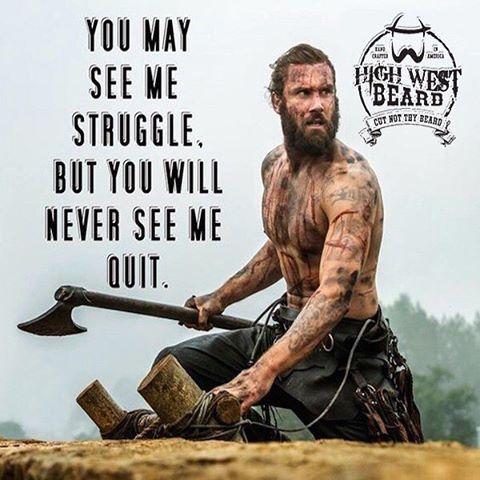 Because I have a beard and am all that is man! Keep on keeping on bearded brothers! No matter what happens in life, remember that you have a bitchin beard. You grow the beard and we'll take care of the rest.