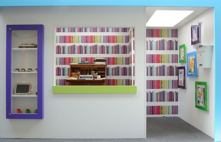 Literacy curiosity shop - themed primary school library