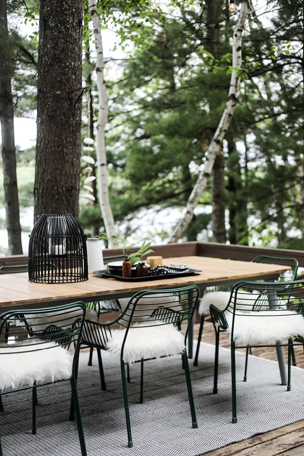 I Decided That The Latta Table Hit All The Right Marks For Us It S Trim B Beautiful Outdoor Furniture Outdoor Furniture Ideas Backyards Outdoor Dining Table