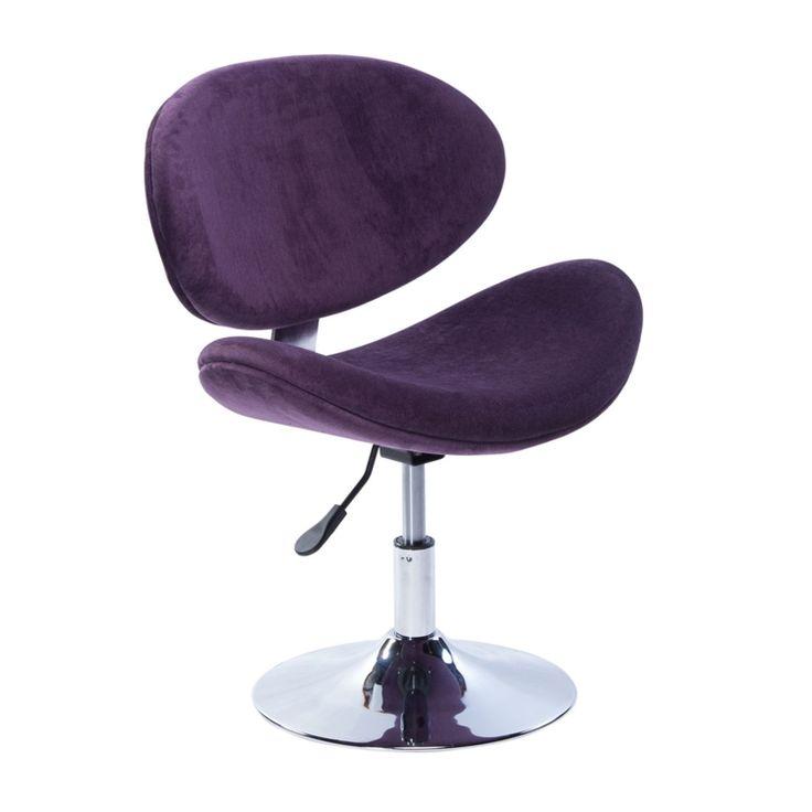 Compre Cadeira de Escritório Disco Bella DesignChair Roxo em até 10x sem juros e entrega para todo Brasil. Aproveite!