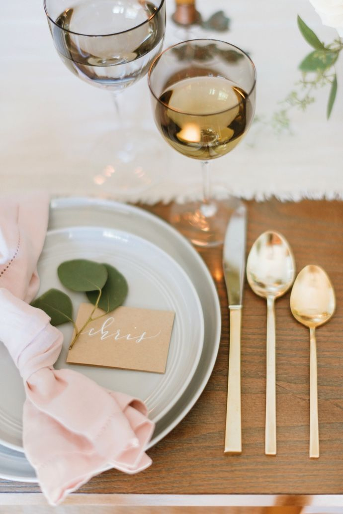 Gorgeous place setting
