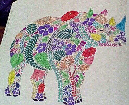 Millie Marotta Animal Kingdom Done In Fineliners