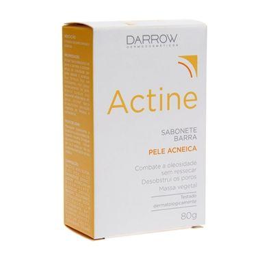Darrow Actine Sabonete Barra antiacne vai reduzir a oleosidade, hidratar e limpar profundamente.