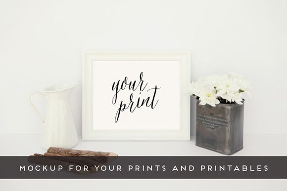 Check out Horizontal Frame Mockup by Bloom Shop Labs on Creative Market
