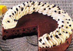 Gâteau au fromage Mocha aux grains de chocolat recette