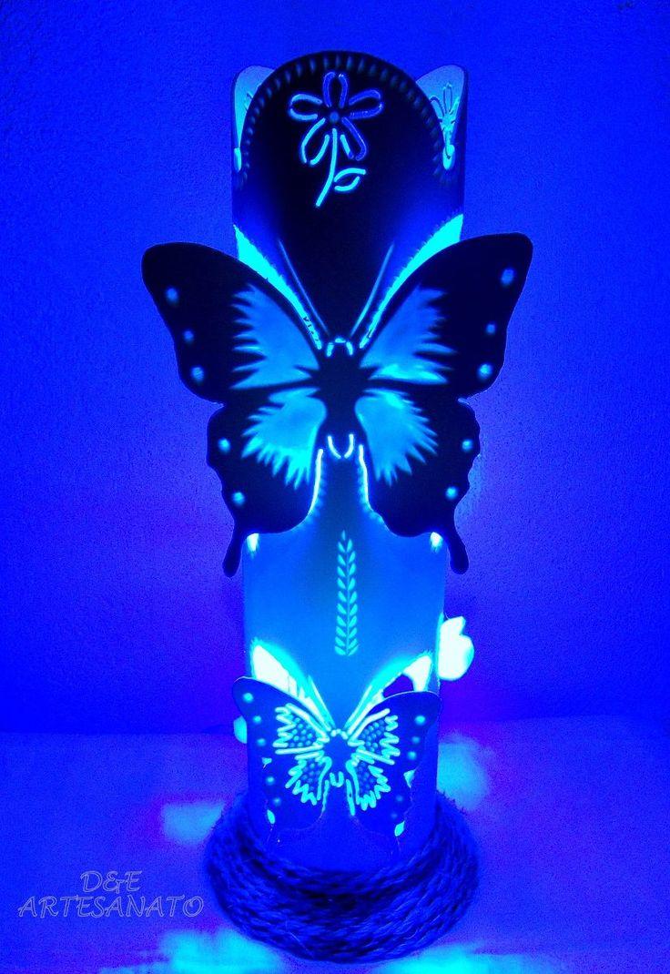 luminária de pvc - Pesquisa Google