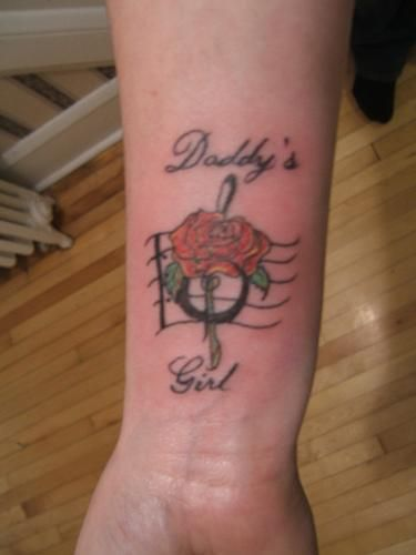 25 best ideas about daddys girl tattoo on pinterest for Memorial tattoo for dad