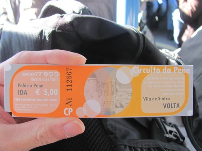 Bus number 434: all-day ticket for 5 Euros - Sintra