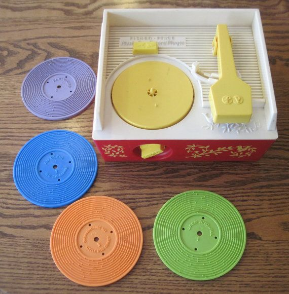 1971 Fisher Price Record Player